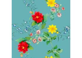 花卉图案背景_3854513