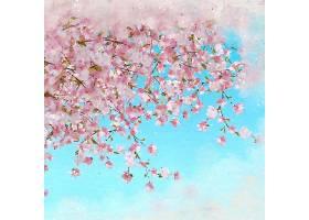 漂亮的背景樱花盛开_902326