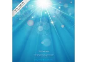 闪亮的蓝色背景_831808