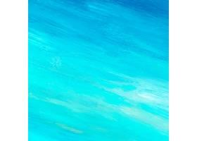 青色抽象亚克力笔触纹理背景_4044765