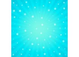 蓝色背景带有星光_2749401