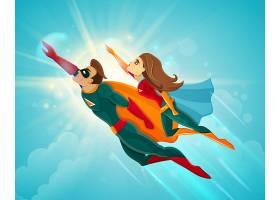 超级英雄夫妇飞翔_3889571