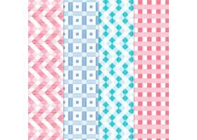 粉色格子布图案收藏集_9470654