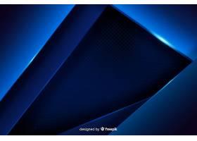 深蓝色背景带有金属效果_4954303