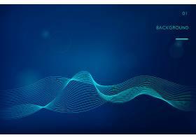 数据可视化动态波型矢量_3226771