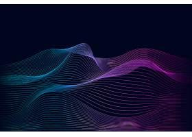 数据可视化动态波型矢量_3776982