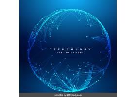 圆形网格的技术背景_805154