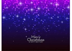 圣诞快乐闪闪发光的背景_6297289