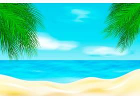 夏季景观背景_8850334