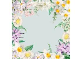 夏花装框卡片_4062030