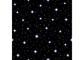 天衣无缝的背景在深蓝色的夜空上闪耀着闪_10700589