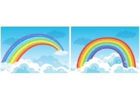 天空中的一组彩虹_2449455