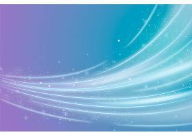 以闪亮的波浪设计为背景_6345385