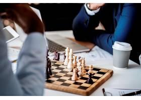 象棋游戏商业战略概念_2753716