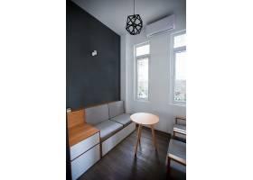 小房间的现代灰色设计_1147987