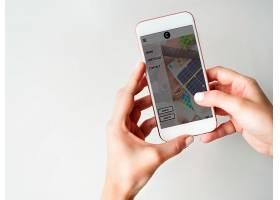 使用智能手机生活方式概念进行通信_2971596