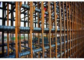 在建建筑物的钢筋_1006345