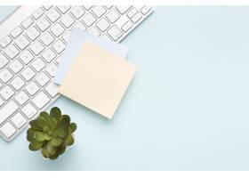 配有复印空间的顶视办公桌_10571374
