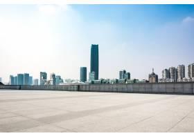 现代建筑前面的空地_1175734