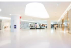 抽象的模糊和散焦的购物中心_4007474