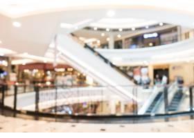 抽象的模糊和散焦的购物中心_4007487