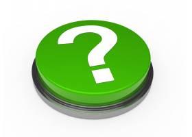 带问号的绿色按钮_959147