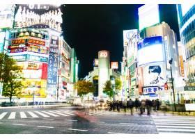建筑日本城市道路_1090669