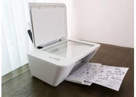 带图形的打印机打印纸_992646