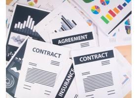 商业报告图形和图表商业概念_1275502