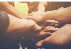 业务团队携手共进业务团队合作理念_1185950