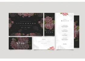 花卉婚礼文具套装_11791477