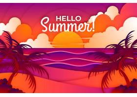纸质夏季背景_8135229