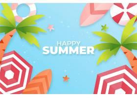 纸质夏季背景_8255136