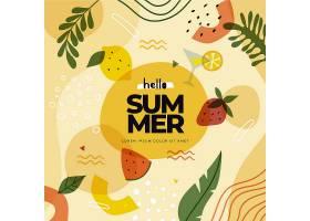装饰夏日壁纸主题_8280126