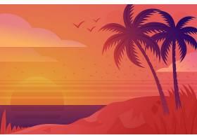 装饰性夏季背景概念_8280128