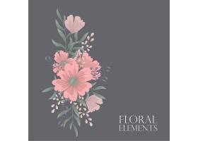 印有鲜花的贺卡_3239399