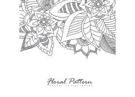 印有鲜花的贺卡_3516085