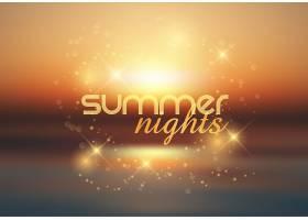 夏夜背景_2443126