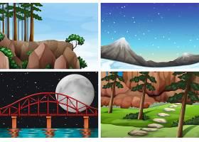 一组自然景观_4382392