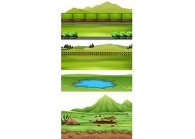 一组自然景观_4449143