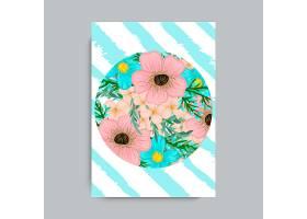 花框五颜六色的花朵_3055268