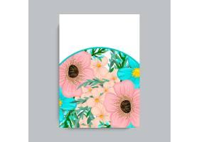 花框五颜六色的花朵_3088445