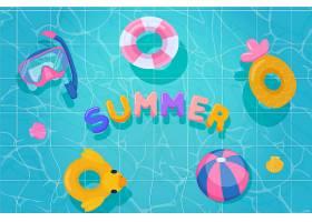 平面设计夏季背景设计_8278724