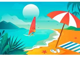 用于缩放的夏季景观壁纸_8928509