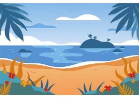 用于缩放的夏季景观背景_9010529