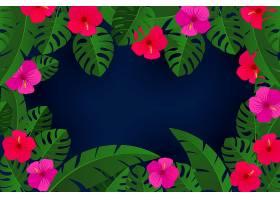 用于视频通信的花叶背景_8968535