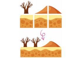 沙漠沙丘游戏元素_2178947