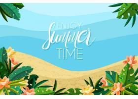 夏季促销背景主题_8455032