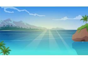 夏季景观缩放背景_9006256