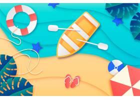 夏季纸质墙纸_8278775